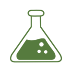 erlenmeyer flask representing tissue culture and other horticultural technologies